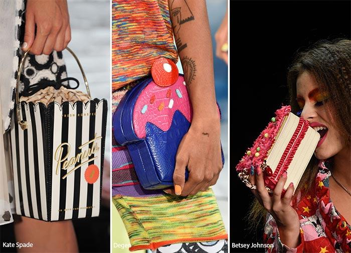 В форме еды - тенденции в сумках весналето 2016