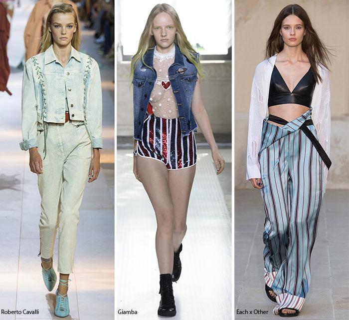 Возвращение 90-х - модные тенденции весна-лето 2016