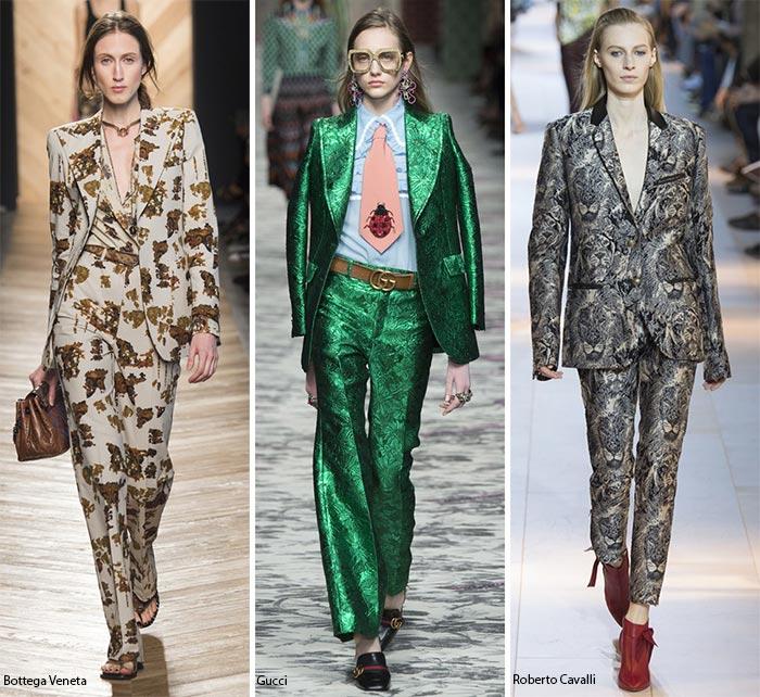 невероято смелые костюмы - модные тенденции весна-лето 2016