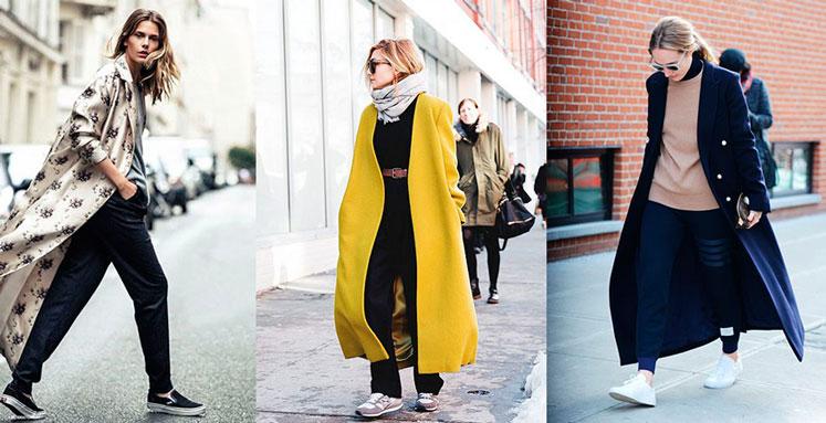 Девушки в стильных пальто