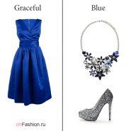 Лук-с-красивым-синим-платьем