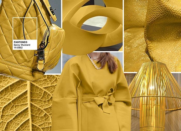 Пряный горчичный - модные цвета в одежде на осень 2016