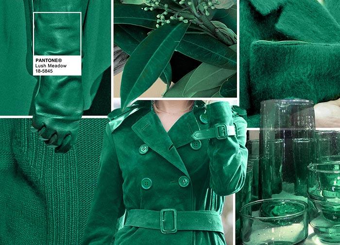 Сочный луг - модные цвета в одежде на осень 2016