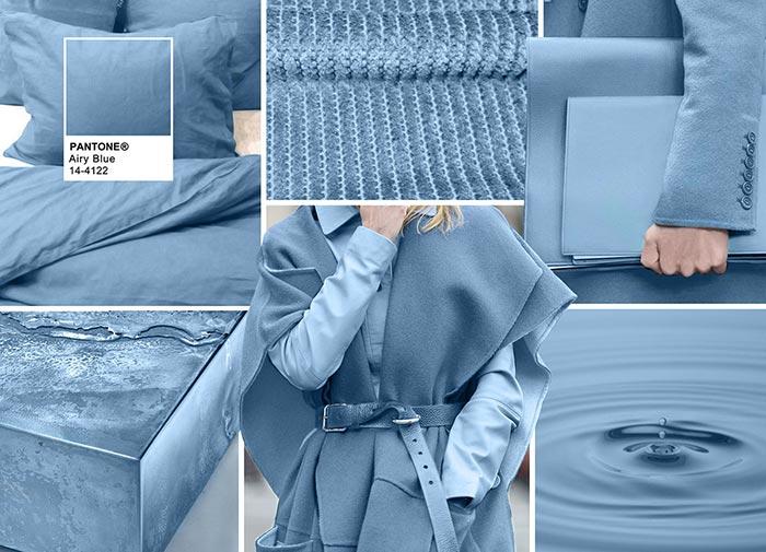 Небесно-голубой - модные цвета в одежде на осень 2016