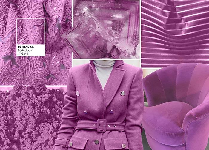 Безрассудный пурпурный-фиолетовый - модные цвета в одежде на осень 2016
