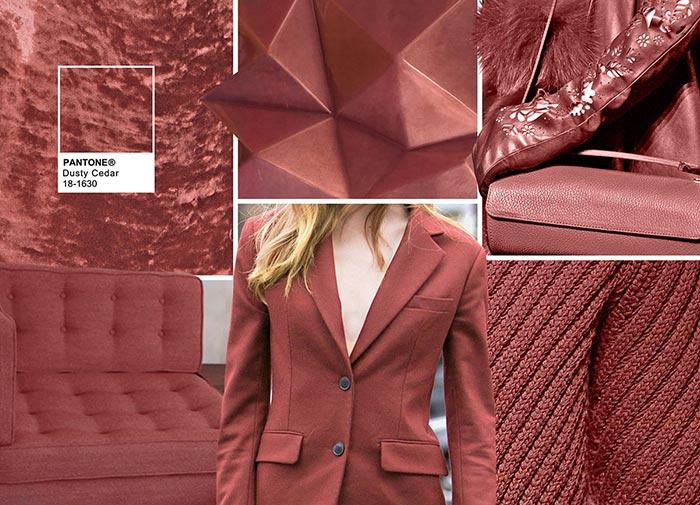 Пыльный кедр - модные цвета в одежде на осень 2016