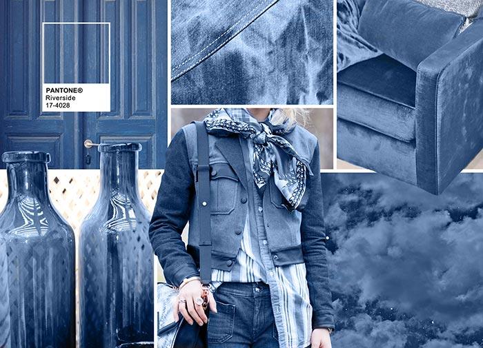 Речной берег - модные цвета в одежде на осень 2016