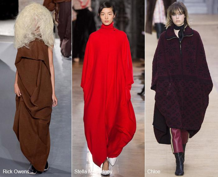 Без формы - модные тенденции на осень/зиму 2016-2017 из Парижа