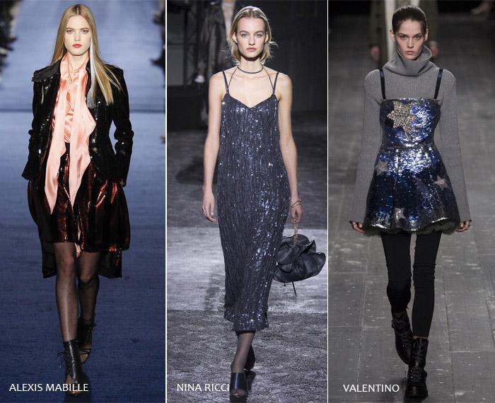 Блеск - модные тенденции на осень/зиму 2016-2017 из Парижа