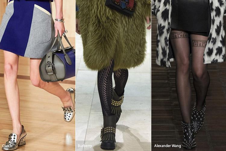 Фурнитура - модная обувь, тенденции сезона осень 2016 - зима 2017