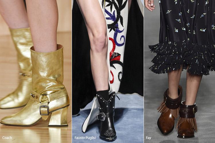 Ковбойские саопоги - модная обувь, тенденции сезона осень 2016 - зима 2017