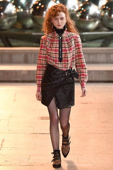 Isabel Marant - модные тенденции в блузках, осень/зима 2016-2017