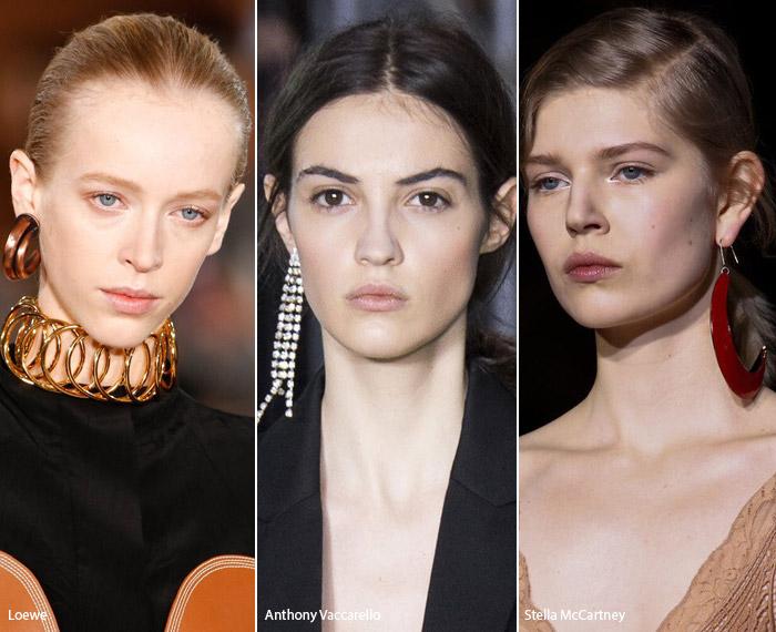 Одна серьга - модные тенденции аксессуаров осень-зима 2016-2017