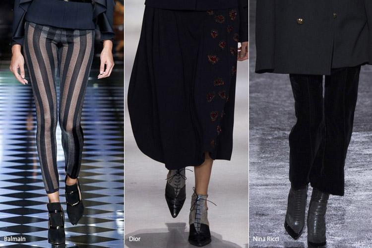 Острый носок - модная обувь, тенденции сезона осень 2016 - зима 2017