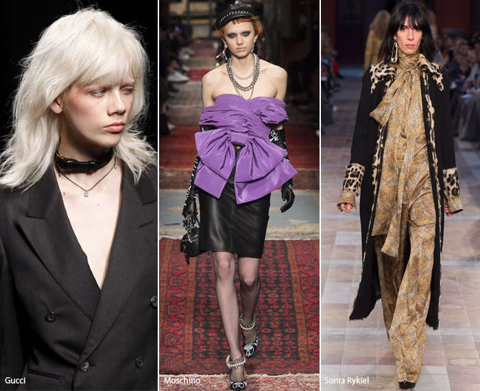 Панк - модные тенденции аксессуаров осень/зима 2016-2017