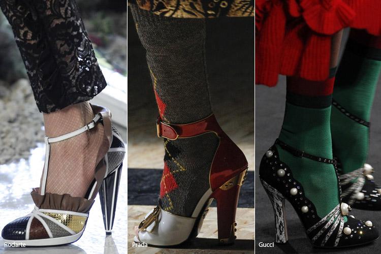 Ремешок на щиколотке - модная обувь, тенденции сезона осень 2016 - зима 2017