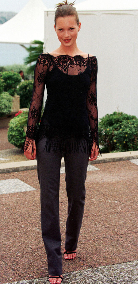 Кейт Мосс, 1999 PHOTO: WENN.com