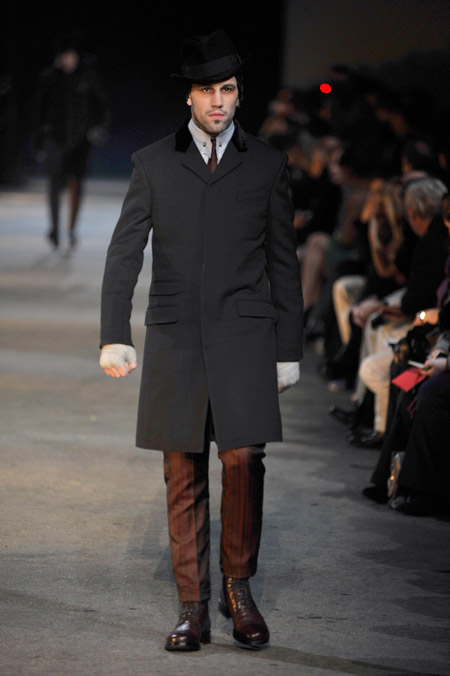 Мужчина в викторианском стиле