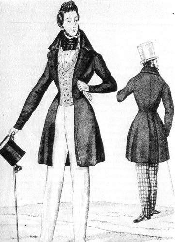 Мужчины в викторианском стиле