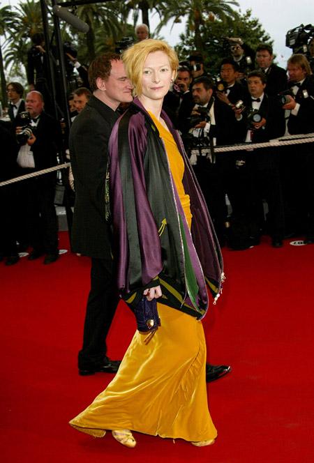 Тильда Суинтон, 2004 PHOTO: Getty Images