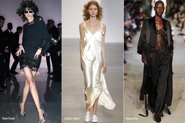 Модели в бельевом стиле