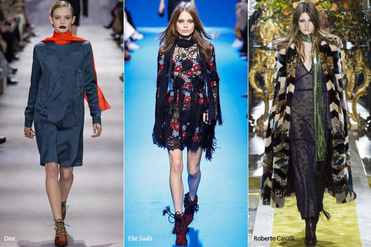 Модели в шелковых шарфах
