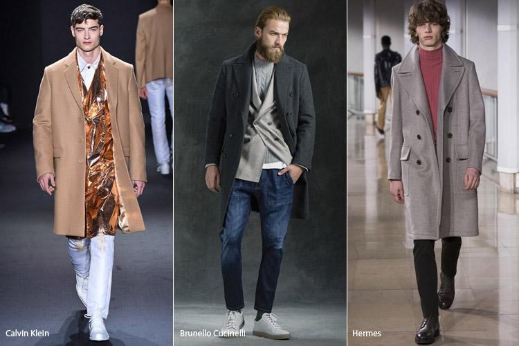 Мужчины в пальто в классическом стиле