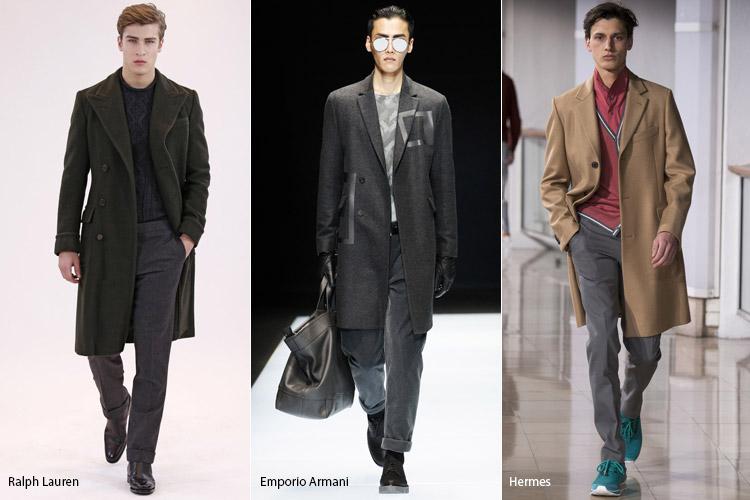 Мужчины в пальто в классическом стиле1