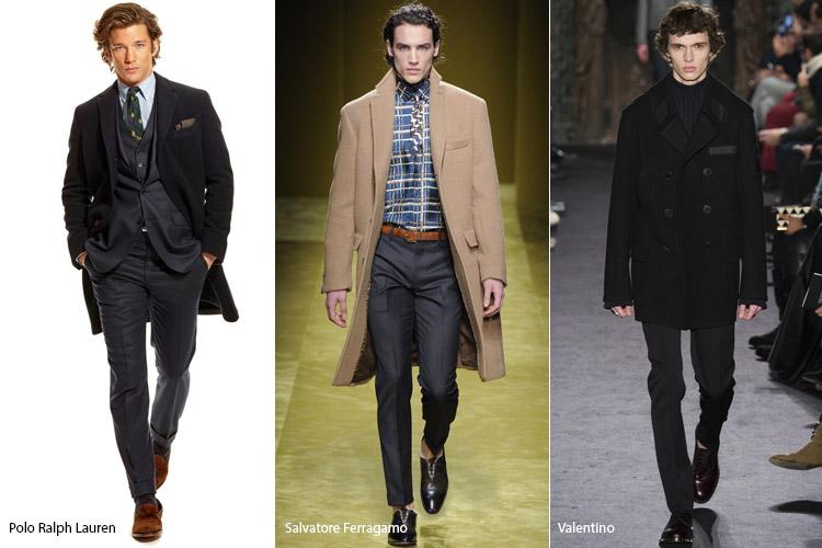 Парни в пальто классическом стиле1