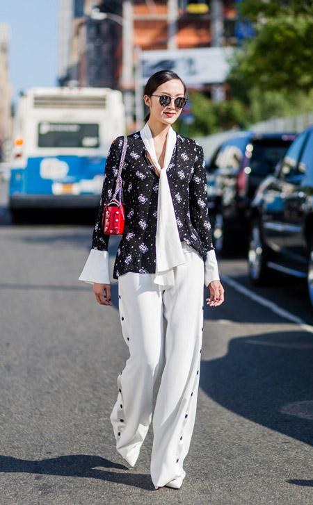 Chriselle Lim - уличная мода Нью-Йорка весна/лето 2017