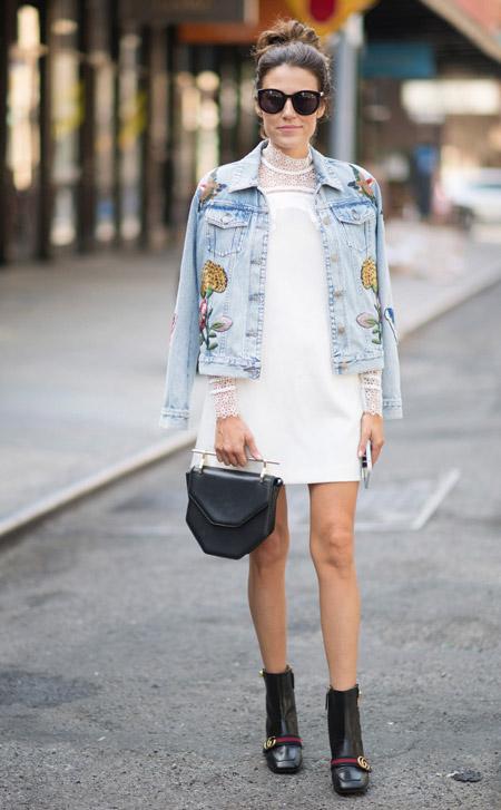 Christine Andrew - уличная мода Нью-Йорка весна/лето 2017