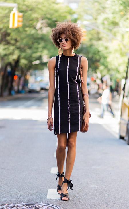 Suliya Gisele - уличная мода Нью-Йорка весна/лето 2017