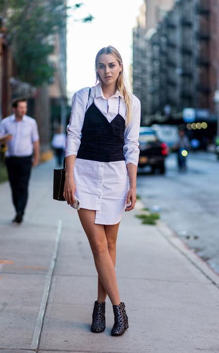 Tiernan Cowling - уличная мода Нью-Йорка весна/лето 2017