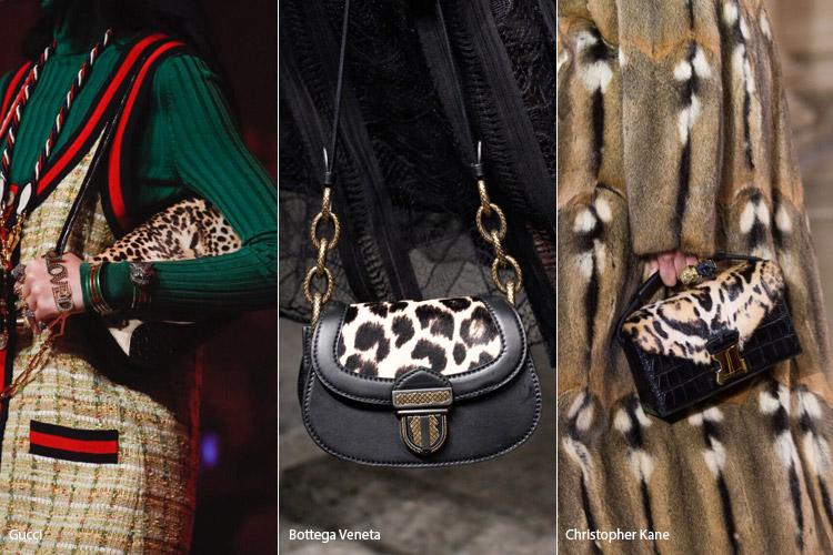 Леопардовый принт - модные сумки весна/лето 2017