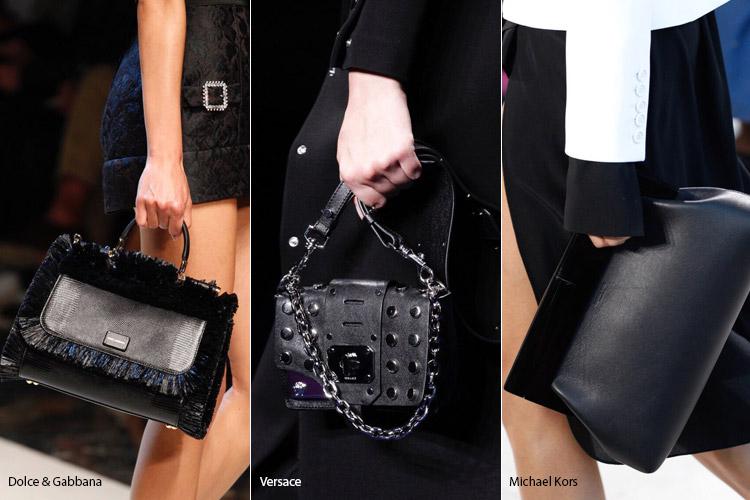 Черные сумки 2 - модные сумки весна/лето 2017