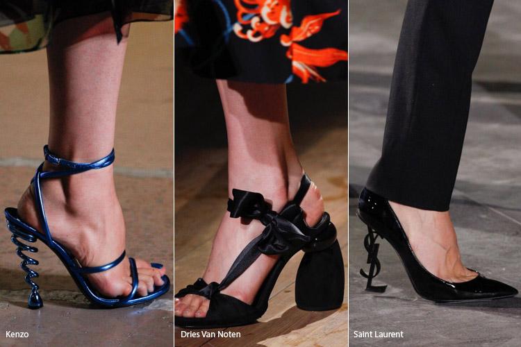 Оригинальные каблуки - модная обувь весна/лето 2017