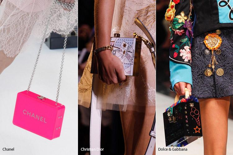 Параллелепипед - модные сумки весна/лето 2017
