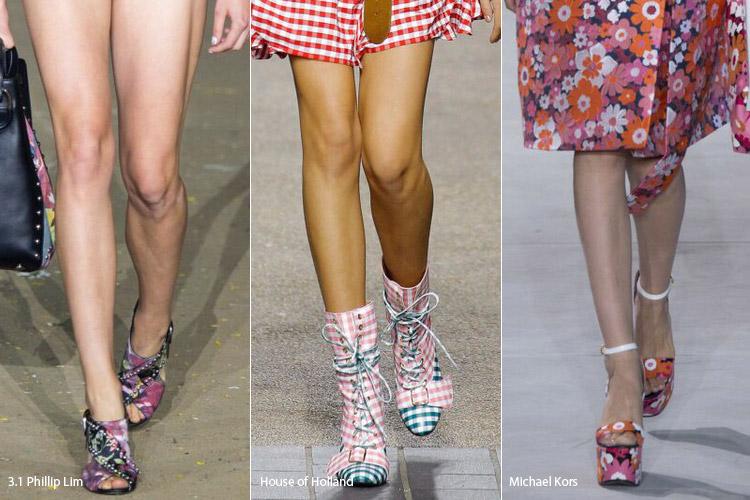 Полное совпадение - модная обувь весна/лето 2017