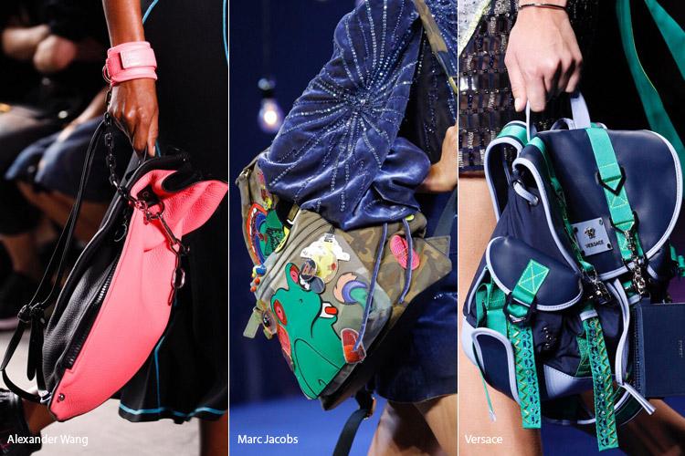 Яркие рюкзаки - модные сумки весна/лето 2017