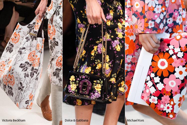 Похожие принты - модные сумки весна/лето 2017