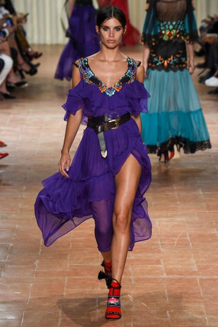 Alberta Ferretti - модные вечерние платья сезона весна/лето 2017