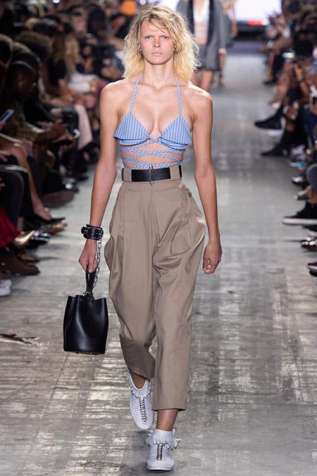 Alexander Wang - Модные женские брюки весна/лето 2017, тенденции