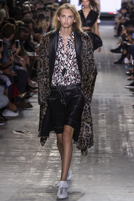 Alexander Wang - модные женские пальто весна/лето 2017