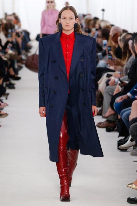 Balenciaga - модные плащи весна/лето 2017