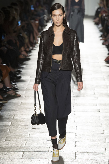Bottega Veneta - модные куртки весна/лето 2017, женские