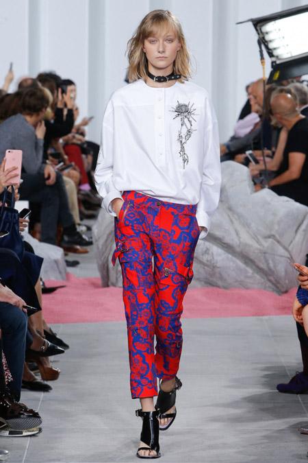 Carven - Модные женские брюки весна/лето 2017, тенденции