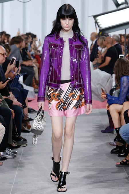 Carven - модные куртки весна/лето 2017, женские