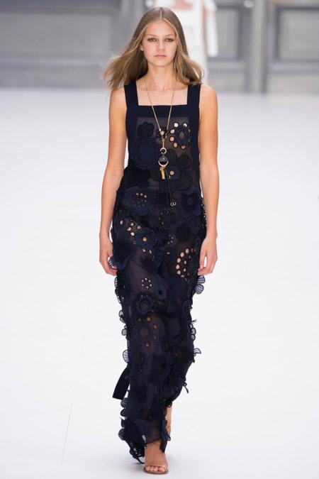 Chloe - модные вечерние платья сезона весна/лето 2017