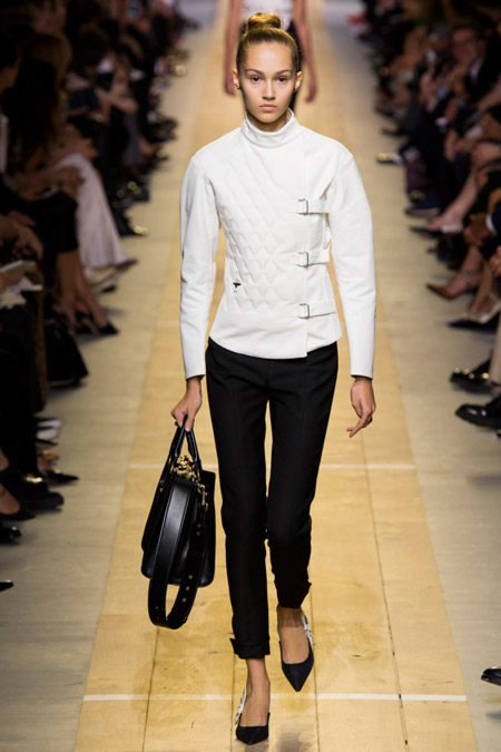 Christian Dior - Модные женские брюки весна/лето 2017, тенденции