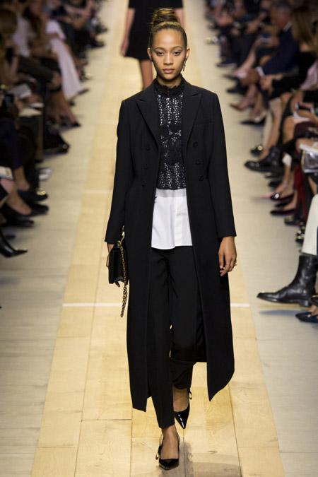 Сhristian Dior - модные женские пальто весна/лето 2017